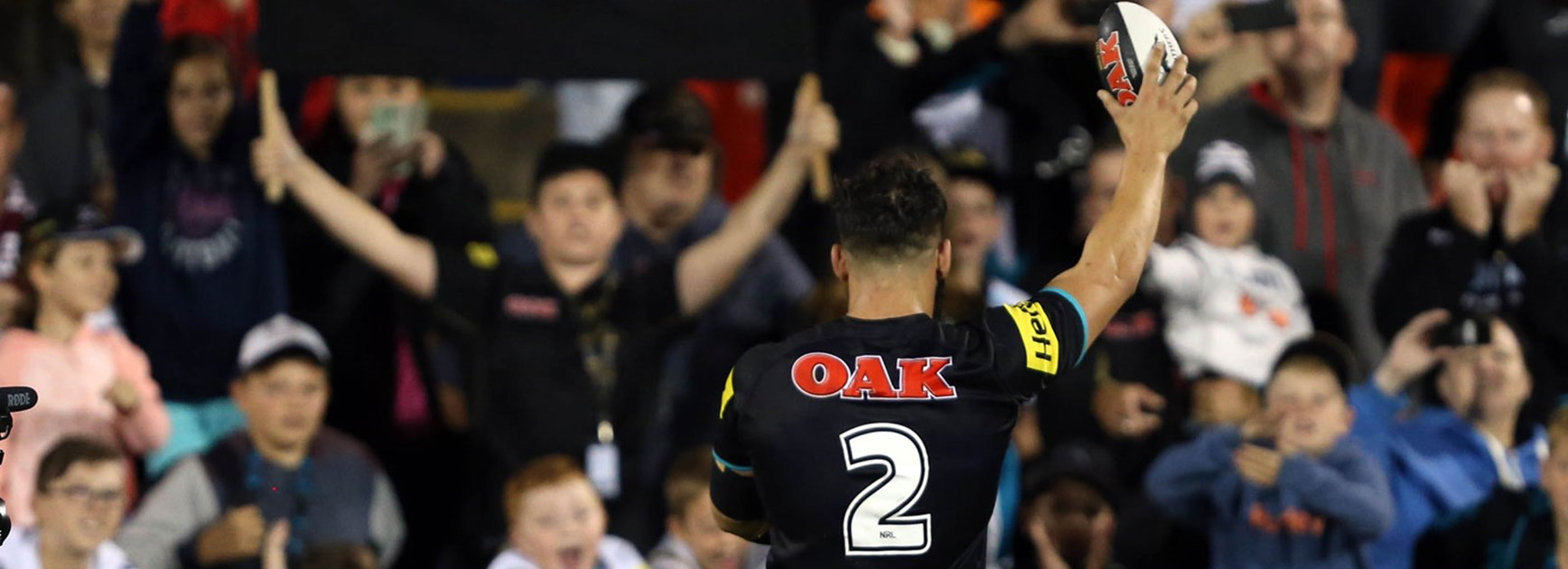 Josh Mansour is set to be the Panthers' most experienced outside back in Round 7.