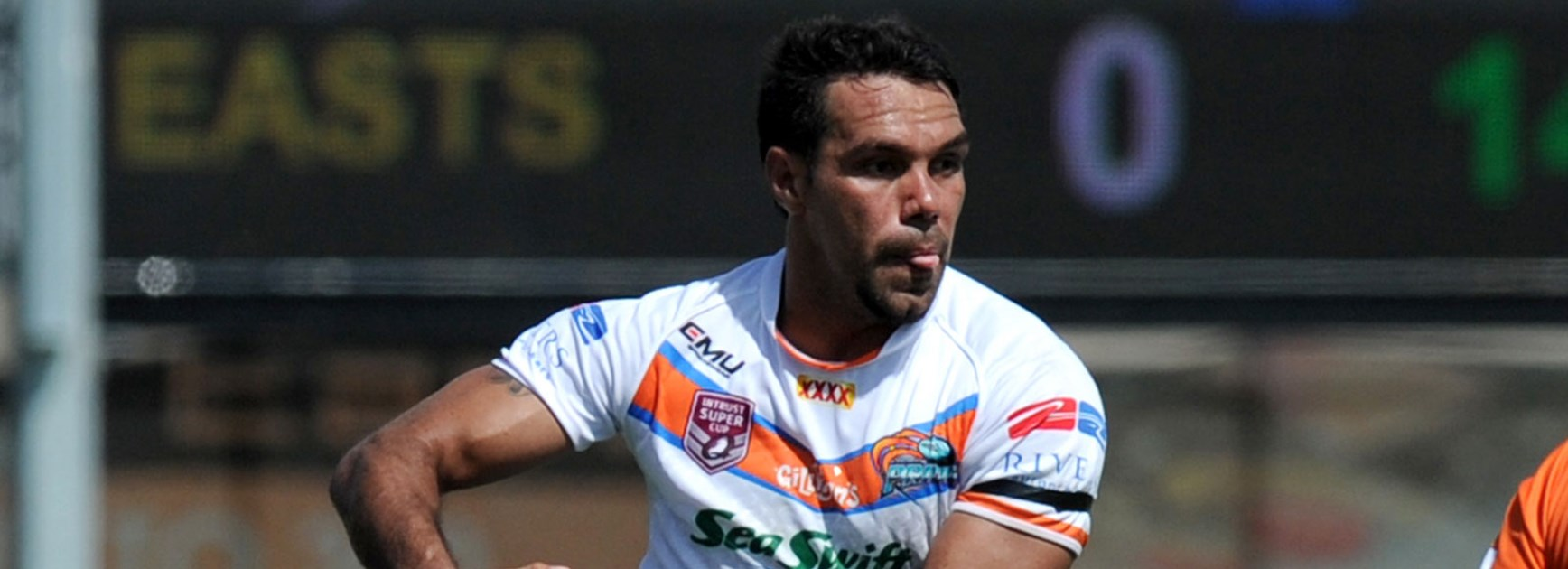 Hezron Murgha is one of six current and former Northern Pride players named in the Queensland Residents team.