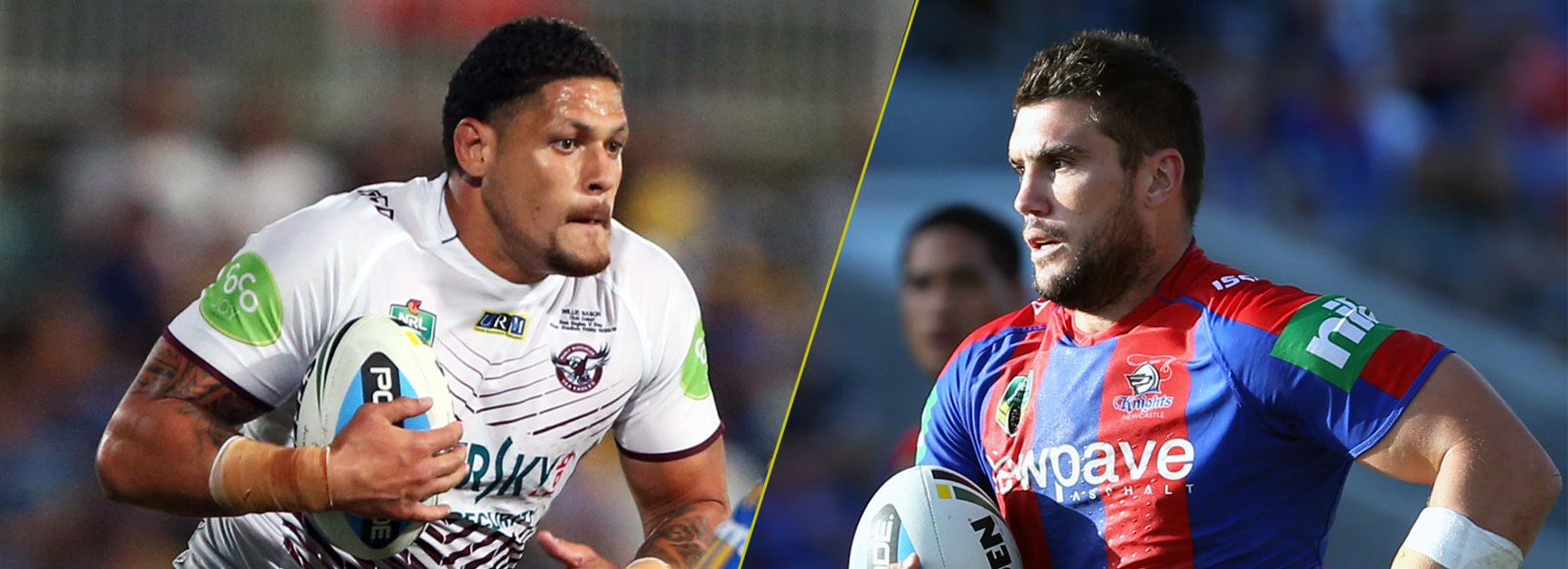 Willie Mason goes up against his former club the Knights and in-form prop Kade Snoden this weekend.