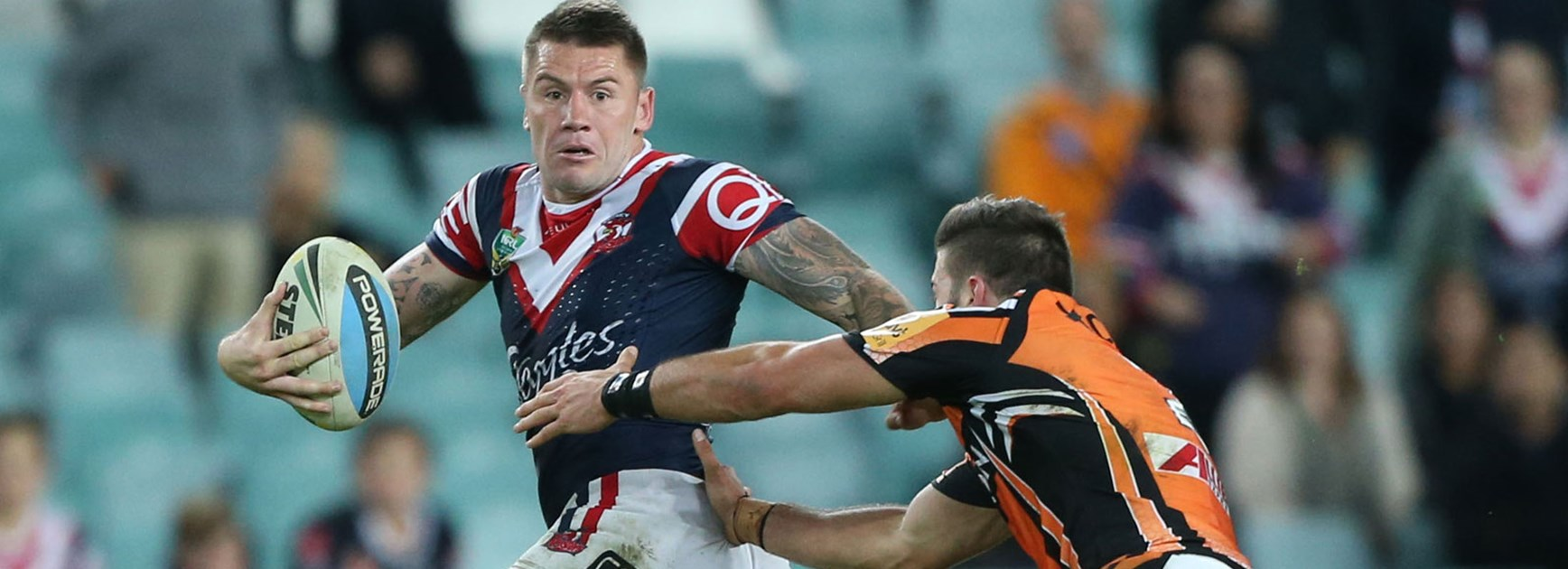 Shaun Kenny-Dowall moved to the wing in the Roosters' Round 9 win over Wests Tigers.