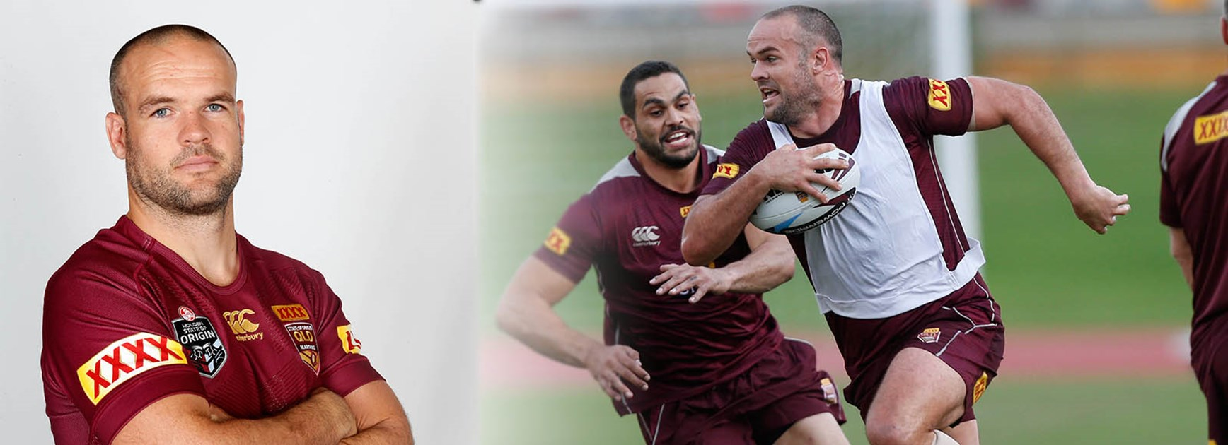 Nate Myles is leading the way for the next generation of Queensland Maroons.