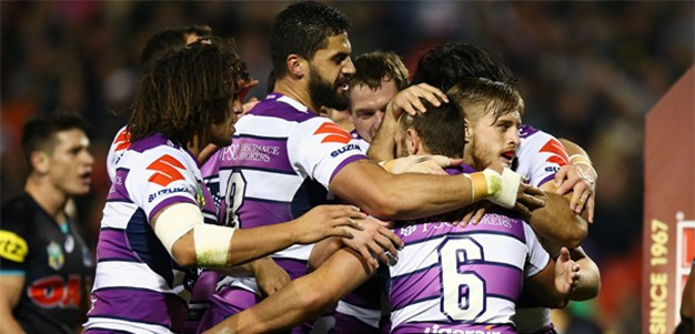 Storm punish sloppy Panthers