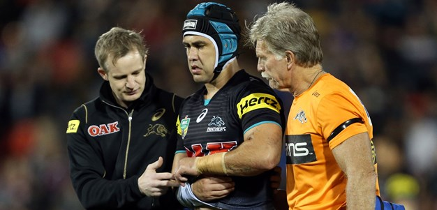 Soward still dogged by shoulder injury