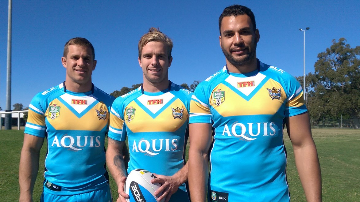 The Gold Coast Titans have announced a new naming rights sponsorship with Aquis.