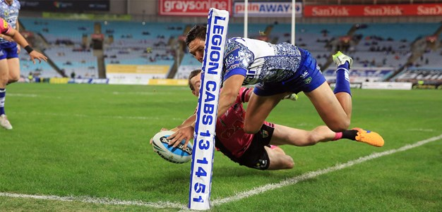 Bulldogs down Panthers in spiteful clash