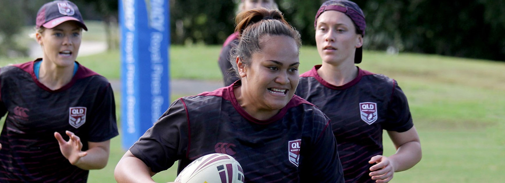 Jazymn Taumafai is excited to play her second game for Queensland on Saturday.