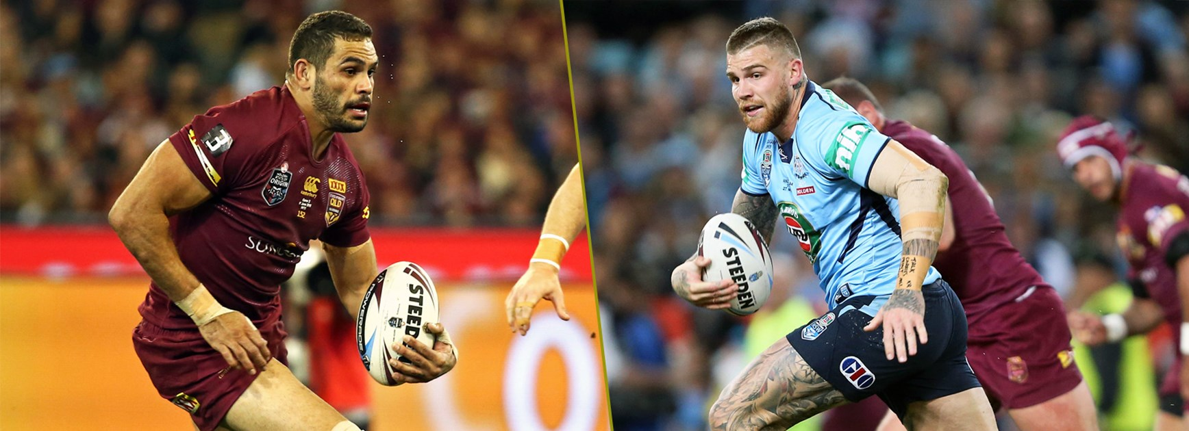 Last season they both lined up in the centres but in this year's Origin decider Greg Inglis and Josh Dugan will be key factors at fullback.