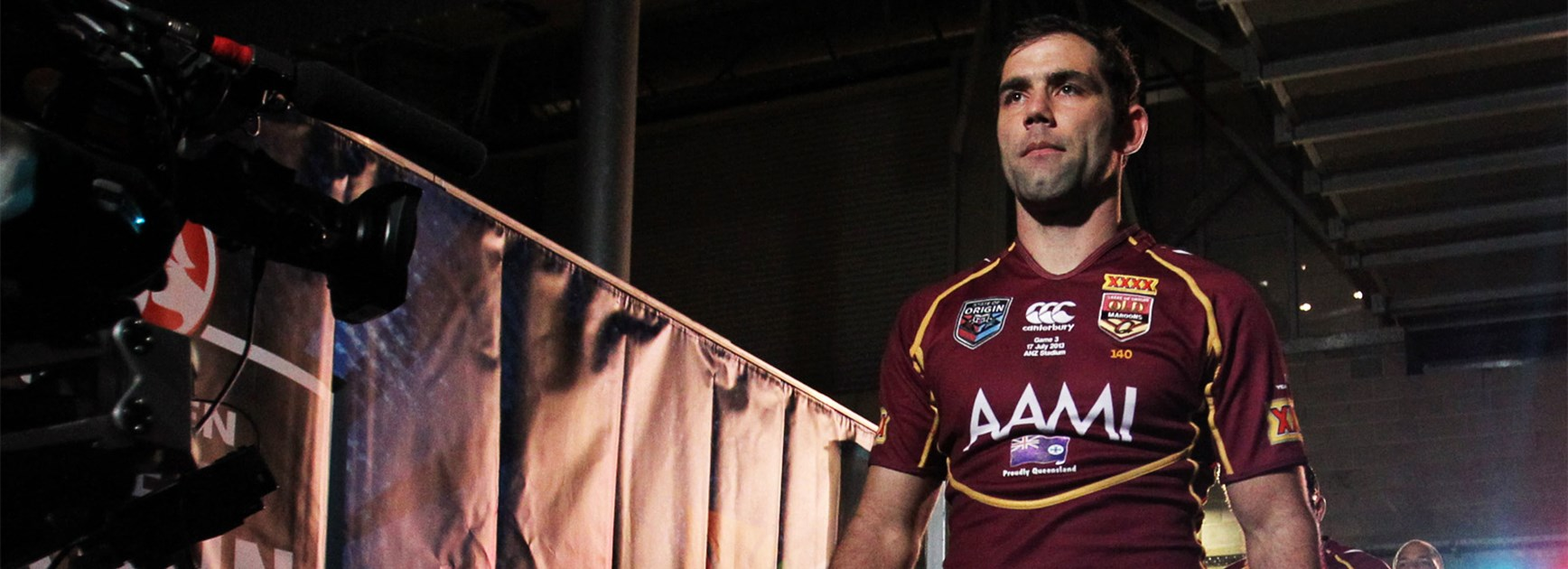 Cameron Smith has been a natural fit for Queensland's leader on the Origin stage.