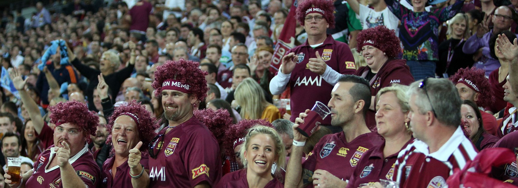 Queensland fans will be given an even more interactive experience next year after the launch of 'Maroon Fest'.