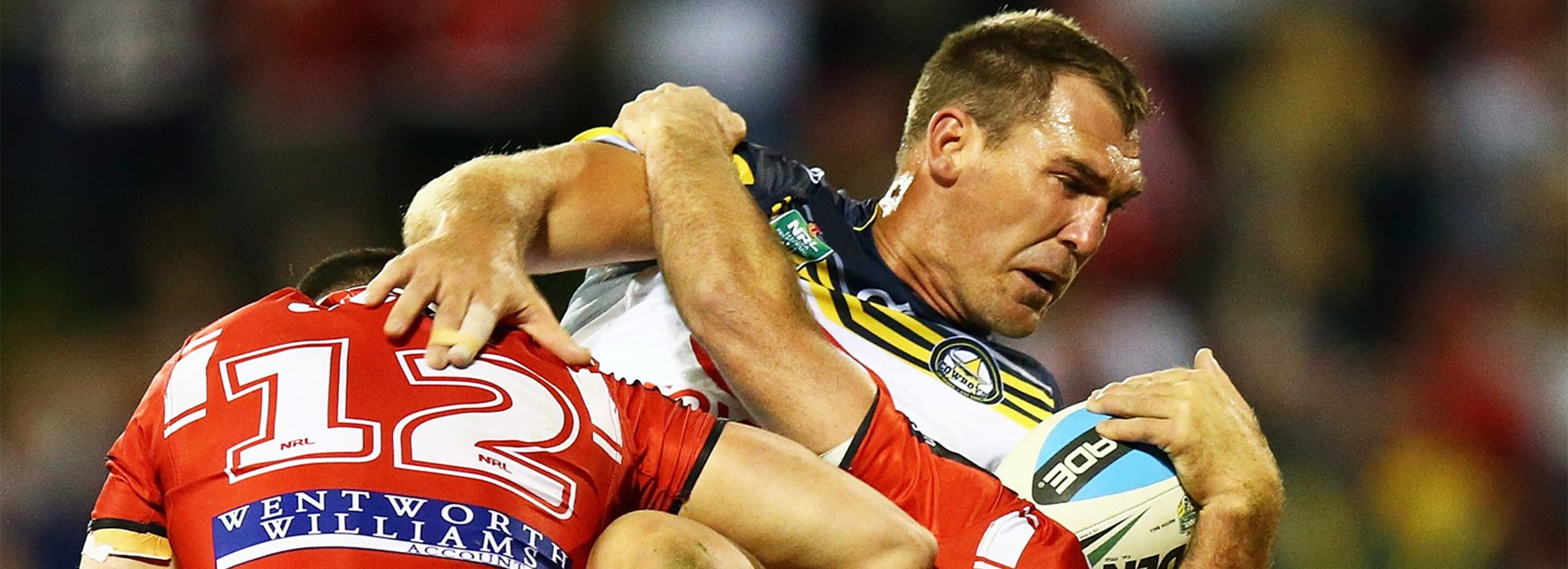 North Queensland's Scott Bolton returned from a fishing injury against the Dragons in Round 17.