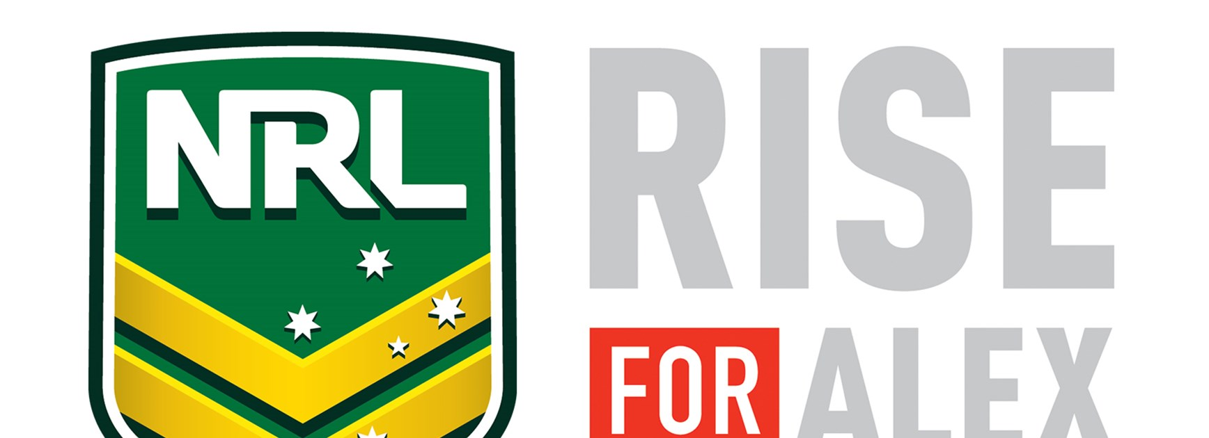 The NRL supports the NRL Foundation and the RiseForAlex Foundation.