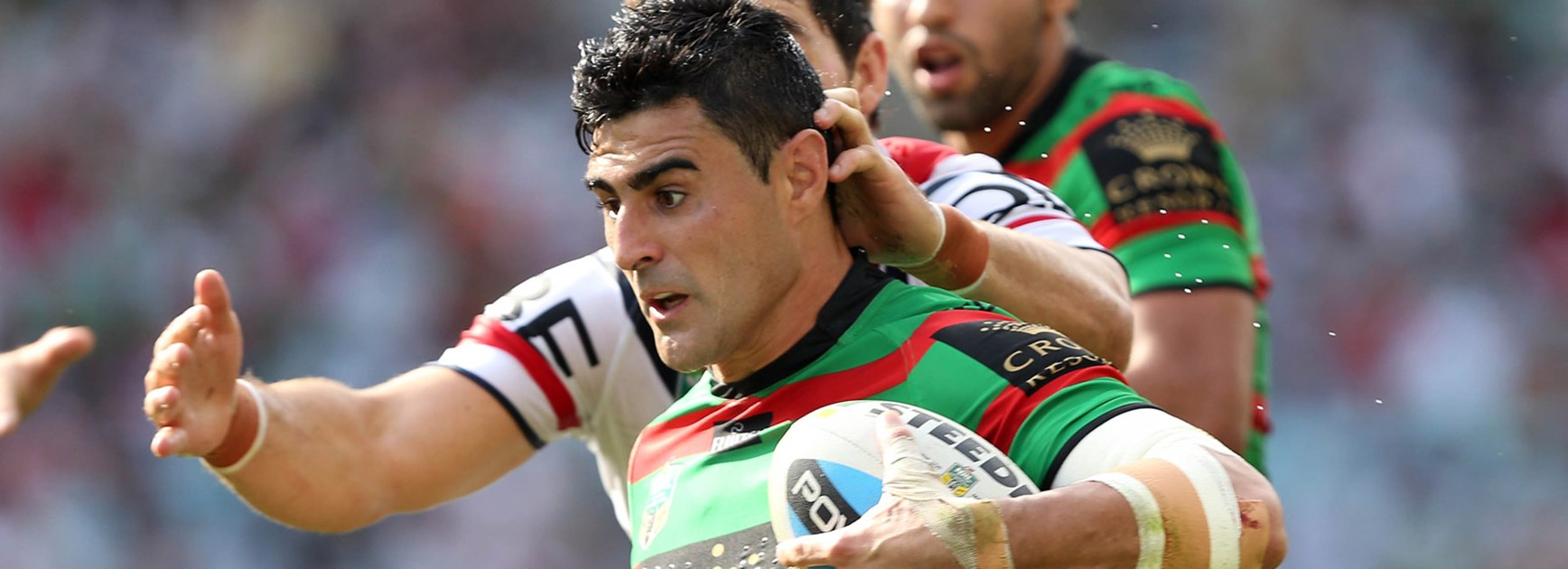 Bryson Goodwin is confident of retaining his place in the South Sydney team despite the impending return of Kirisome Auva'a.