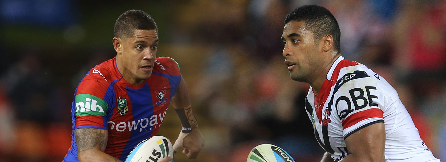 Dane Gagai and Michael Jennings will be looking to add to their try tallies on Sunday afternoon.