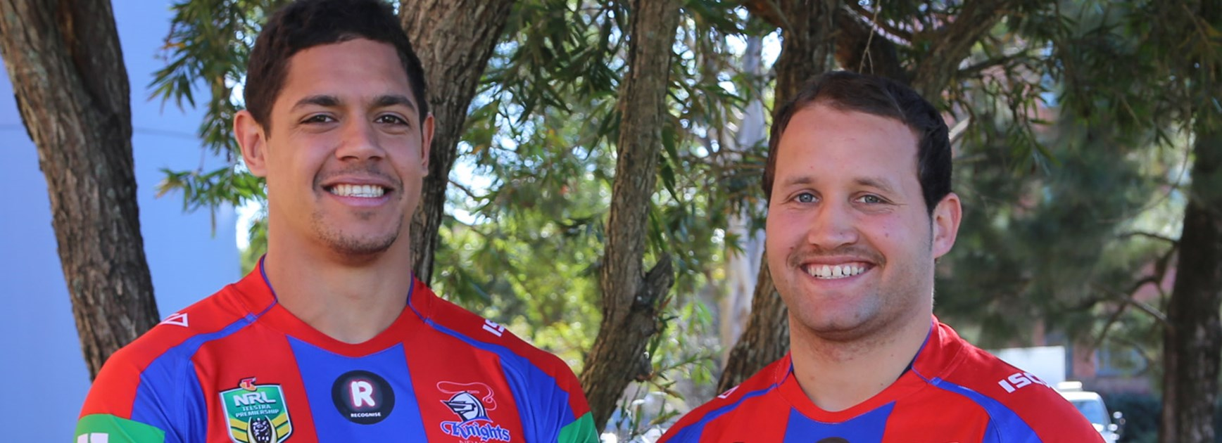 The Newcastle Knights' Round 22 jersey will feature the RECOGNISE logo in support of the campaign.