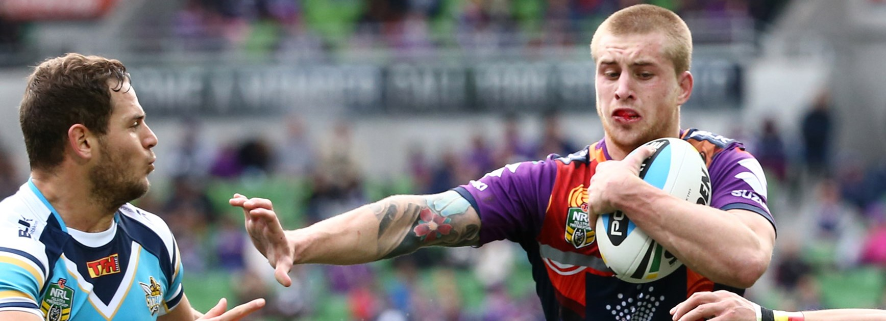 Cameron Munster was superb in Melbourne's Round 22 win over Gold Coast.