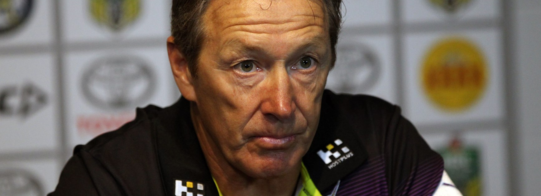 Storm coach Craig Bellamy has voiced his opinion on the mid-season shoulder charge penalty change.