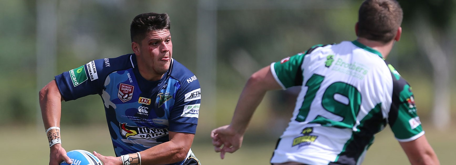Jets fullback Carlin Anderson will be a handful when Ipswich and Townsville meet at Charters Towers on Saturday.