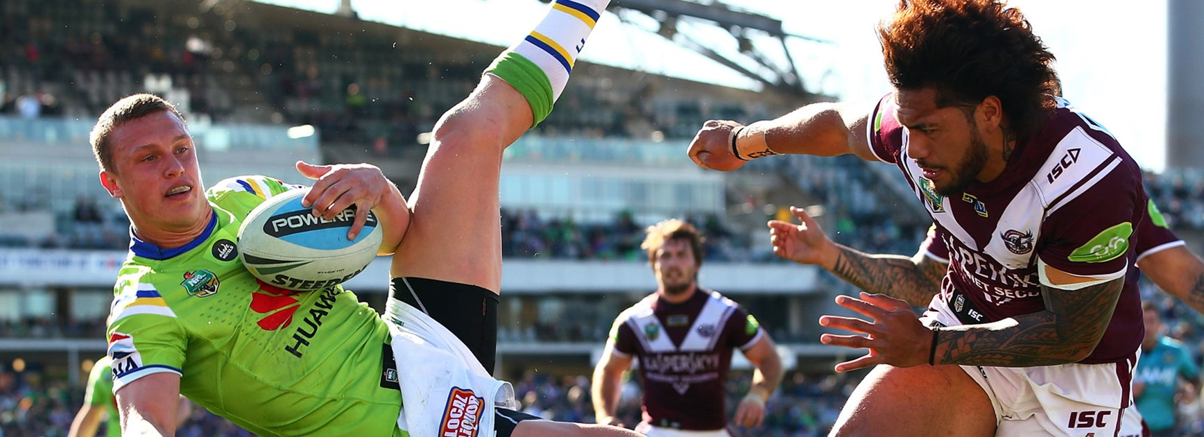 Jorge Taufua was cited for his challenge on Jack Wighton in Round 23.