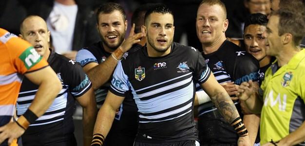 Sharks eyeing top-four finish
