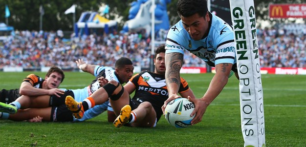 Sharks too good for Wests Tigers