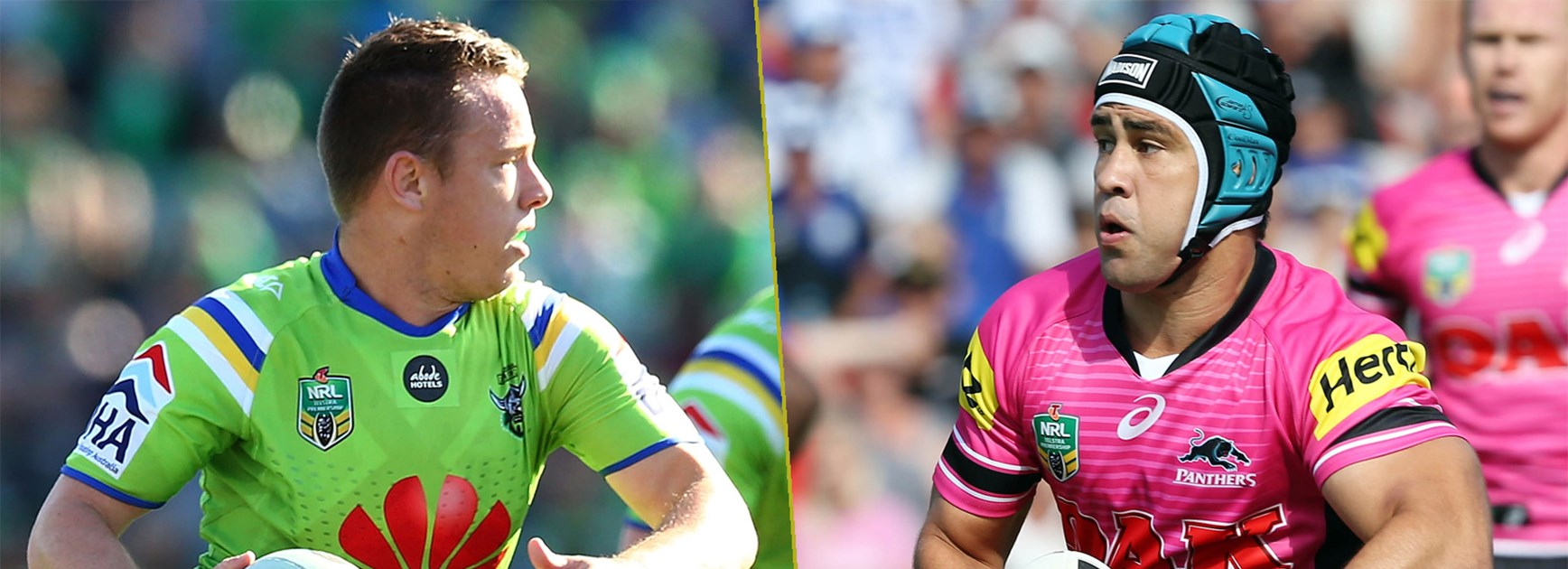 Raiders halfback Sam Williams and Panthers playmaker Jamie Soward will have a big say on how this game plays out.