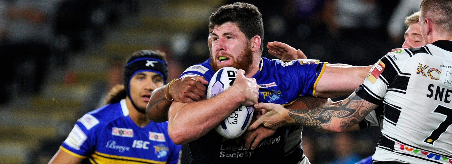 Mitch Garbutt is relishing the opportunity to play with Leeds in the UK Super League.