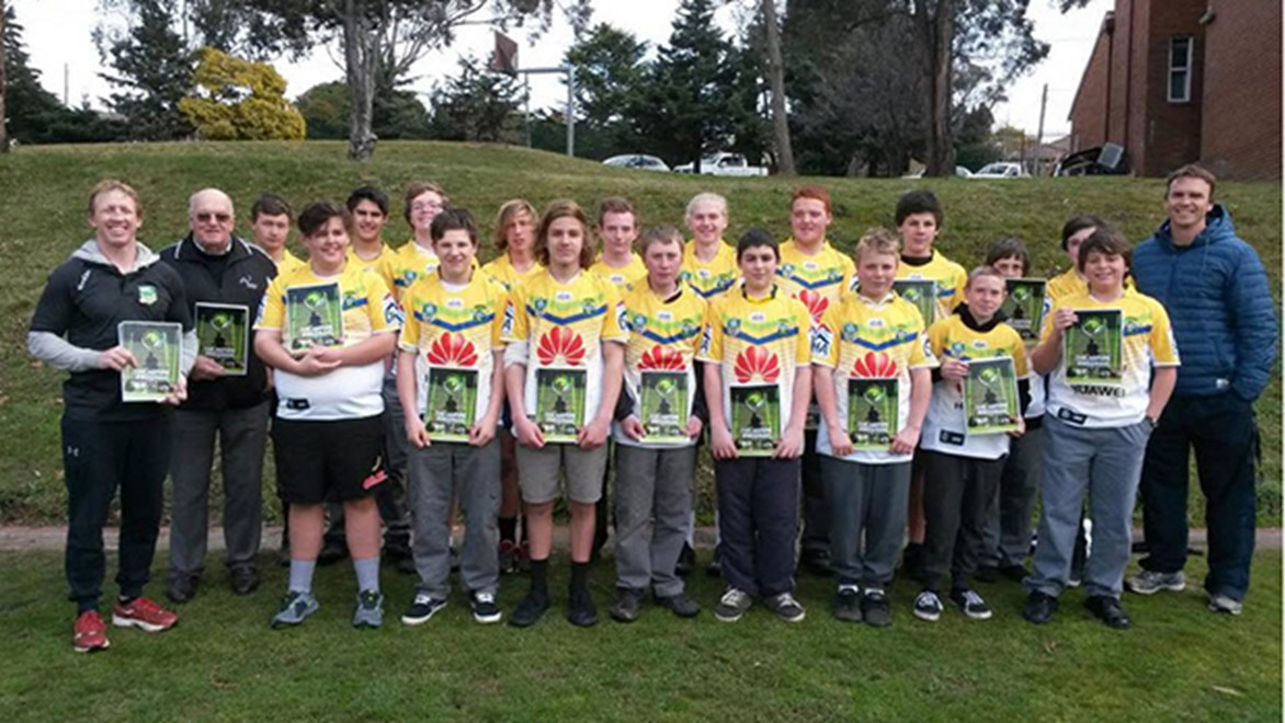 20 Goulburn High students are being challenged and tested physically and mentally as part of the Aspire Program.