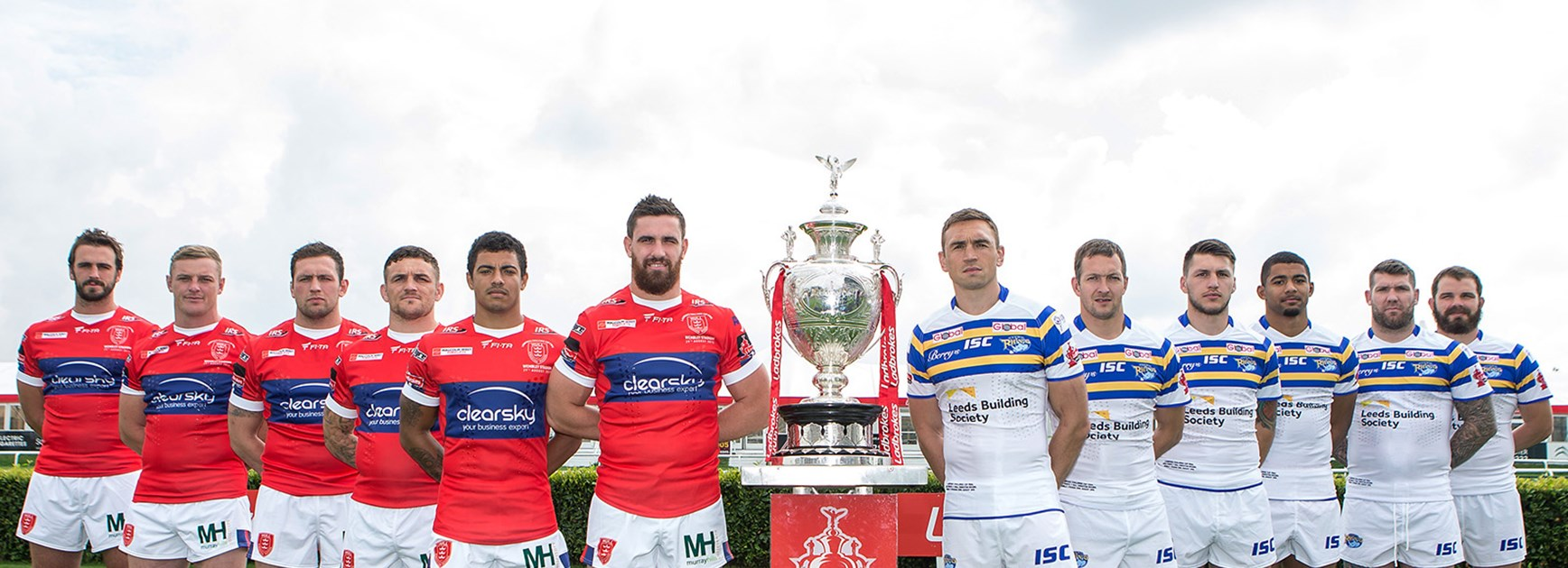 Hull KR and Leeds Rhinos meet in the Challenge Cup Final on Saturday night.