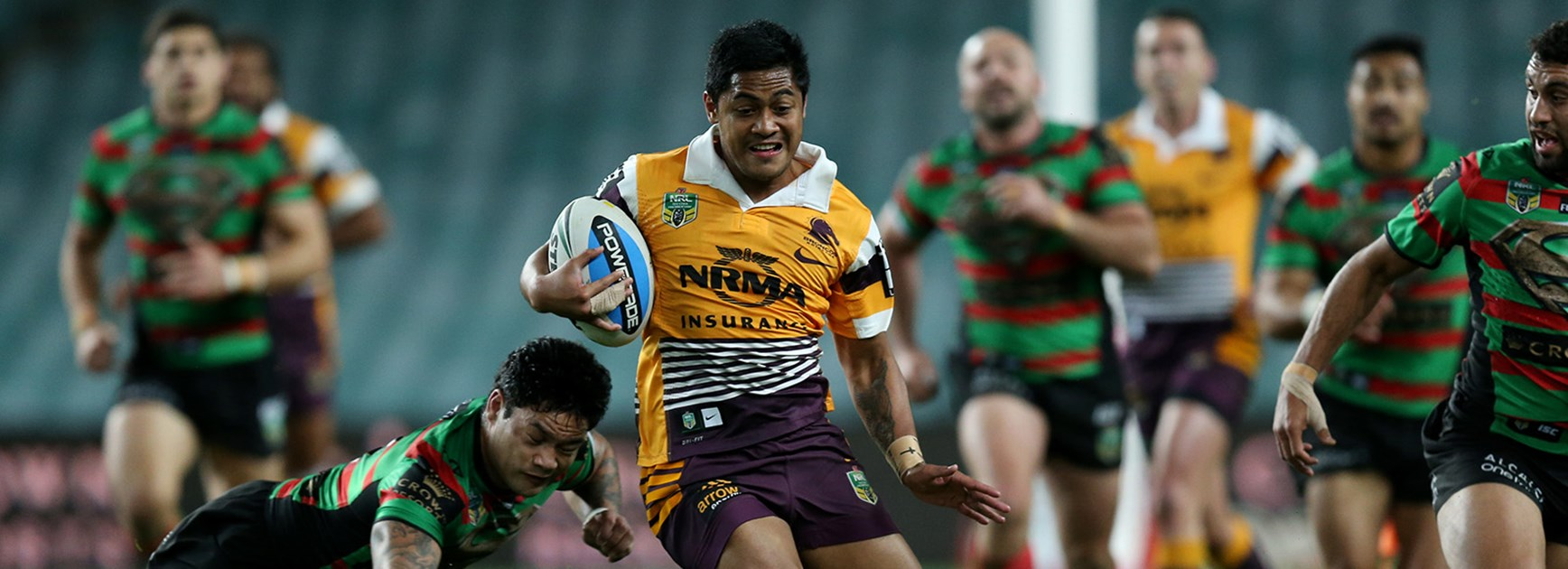 Anthony Milford carved South Sydney all night in a magnificent performance.