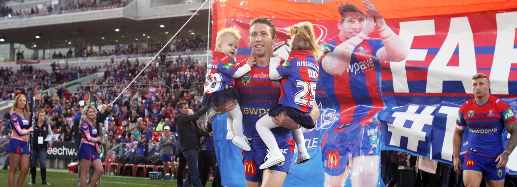 Kurt Gidley ahead of his final home game for the Newcastle Knights.