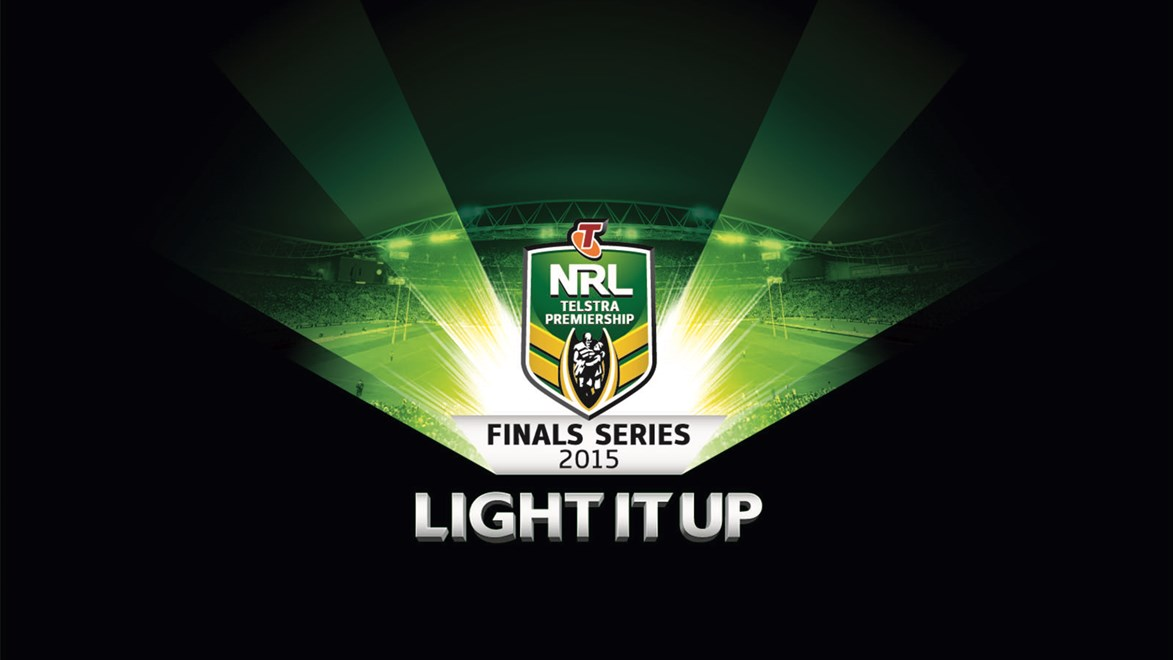 NRL teams are set to Light it Up in the 2015 Telstra Finals Series.
