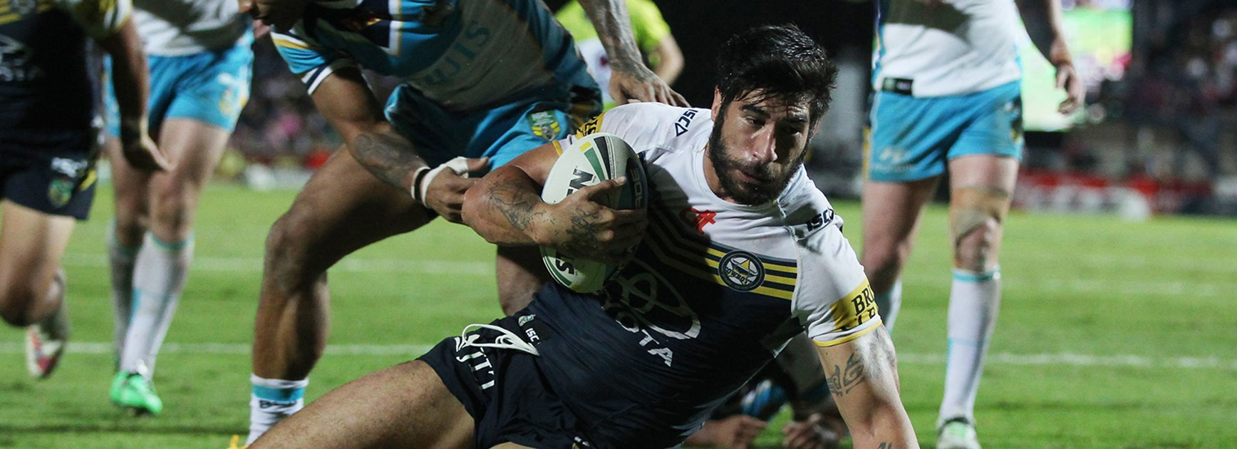 Cowboys prop James Tamou made a successful return from a neck injury in Round 26 against the Titans.