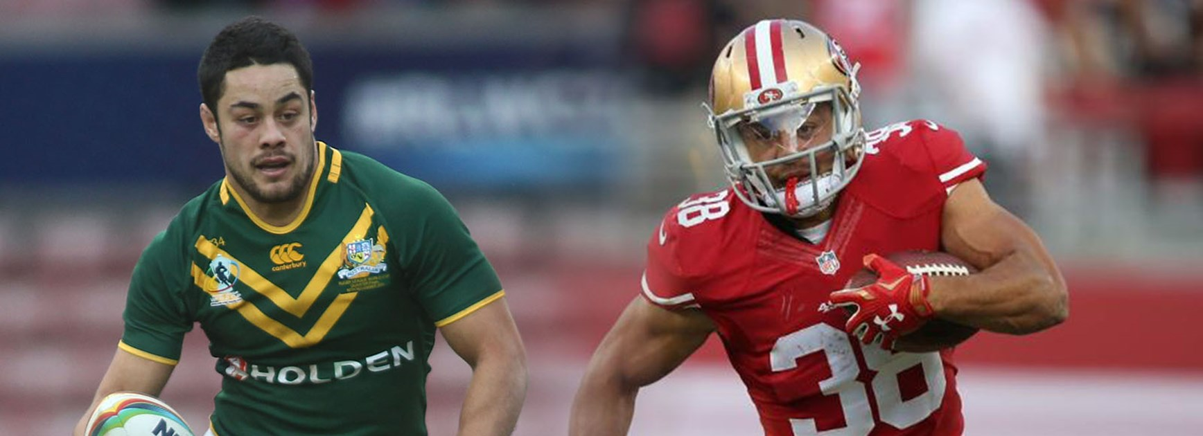 From the NRL to the NFL. Jarryd Hayne has chased his dream and succeeded with a contract at the 49ers.