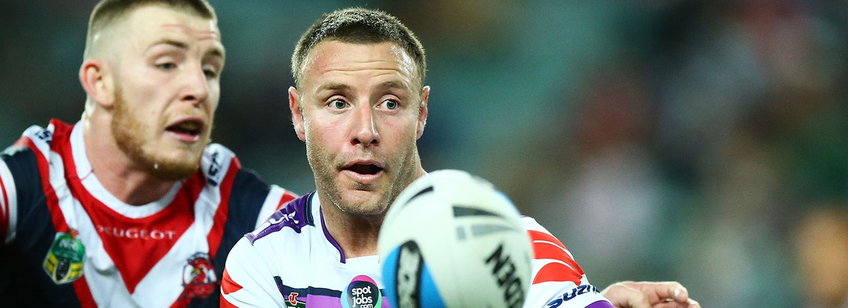Blake Green had a strong game for Storm against the Roosters in their NRL qualifying final.