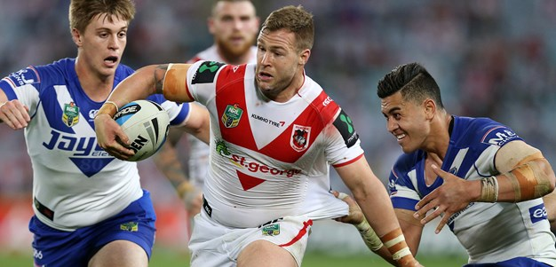 Merrin leaves the Red V with pride