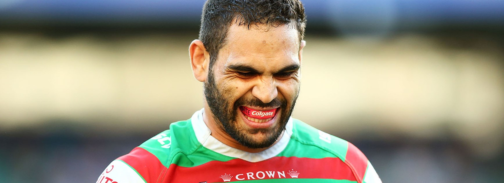 Greg Inglis capped a disappointing game by being placed on report.