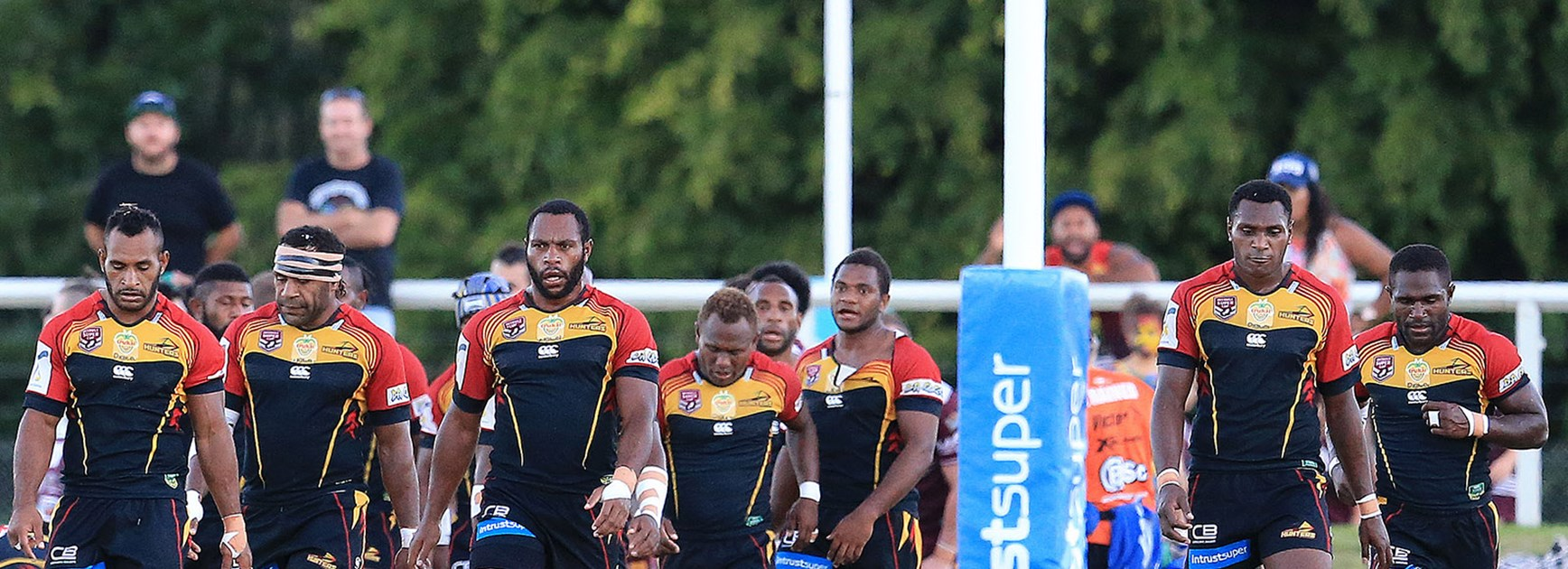 The PNG Hunters have won three of four previous meetings with Ipswich in the Intrust Super Cup.