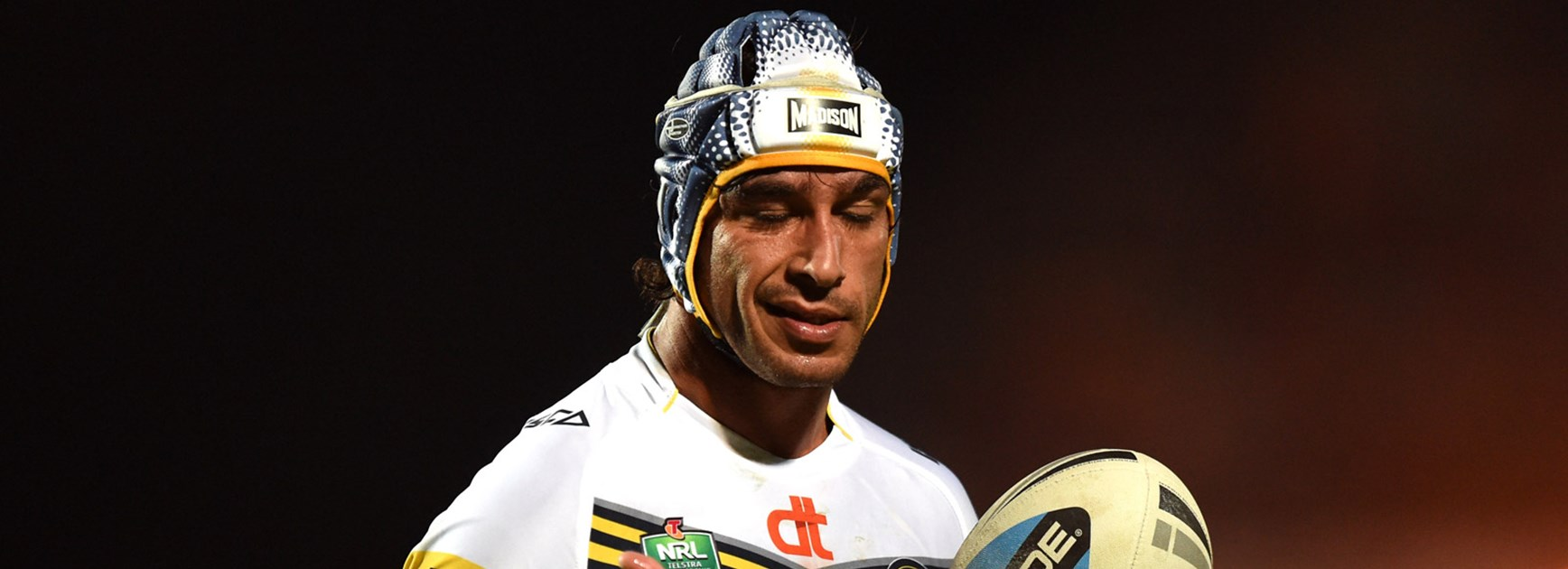 Cowboys co-captain Johnathan Thurston was very much in control during his side's semi-final win.