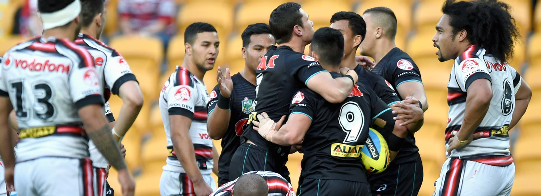 The Penrith Panthers NYC side are through to the grand final after defeating the Warriors in Friday night's preliminary final.
