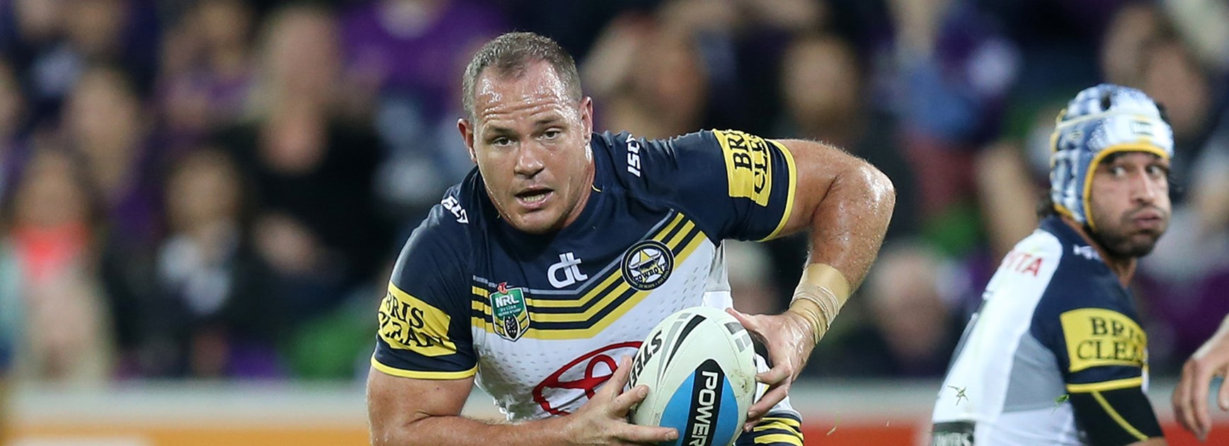 North Queensland prop Matt Scott played a big role in the Cowboys' Preliminary Final win over the Storm.