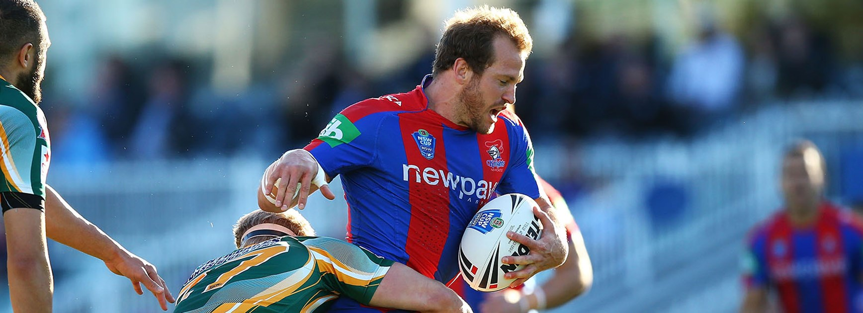 Clint Newton led his Newcastle Knights to NSW Cup Grand Final success.