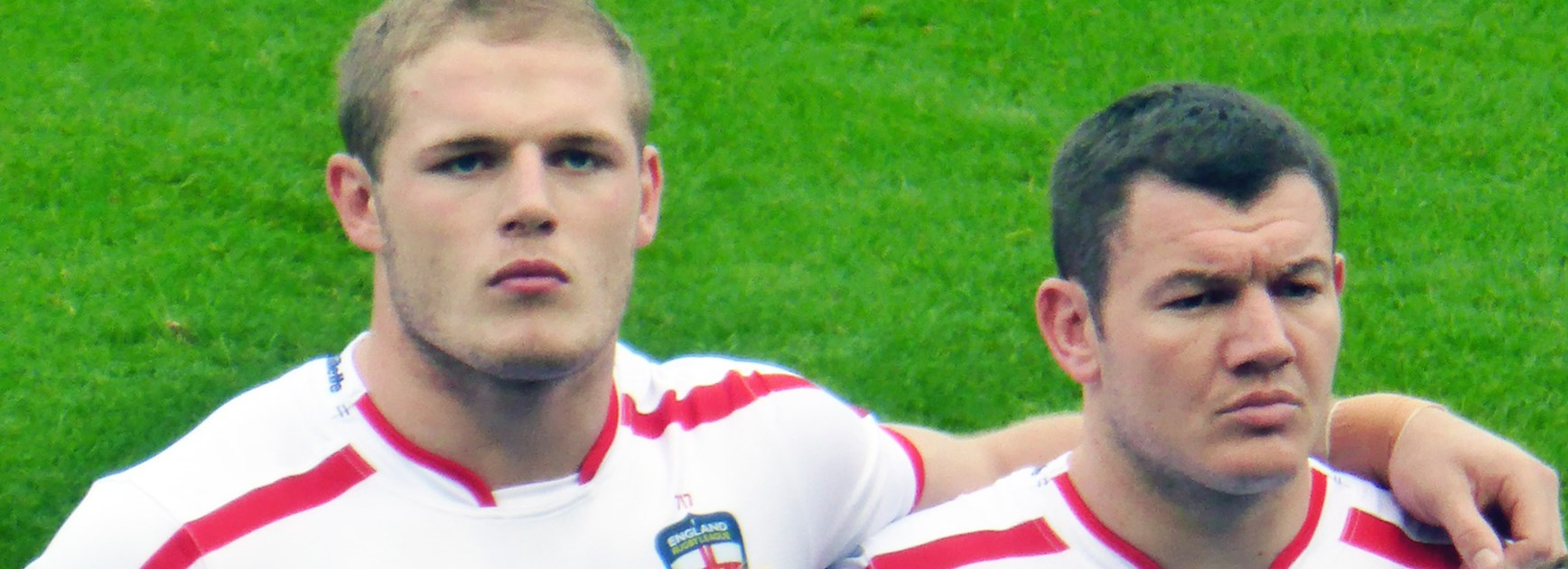 Rabbitohs prop Tom Burgess considers himself a leader in the England national side.