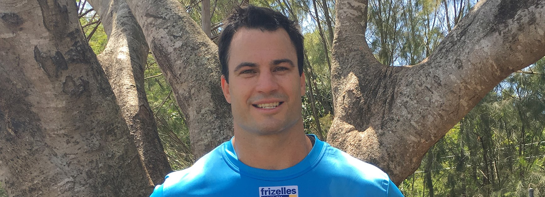 Titans recruit David Shillington is hoping to lead from the front row and help the younger players at the Gold Coast.