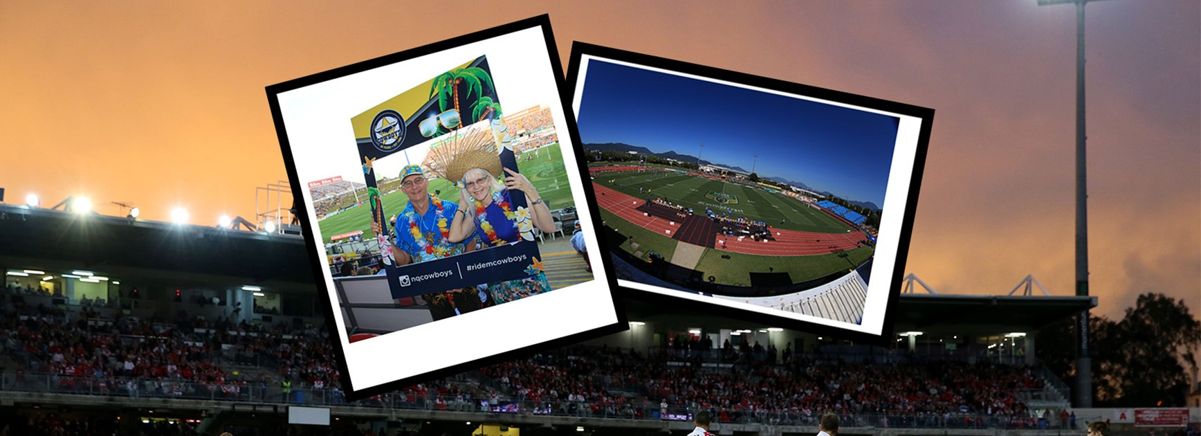 Postcards from roadtrips around the NRL in 2016.