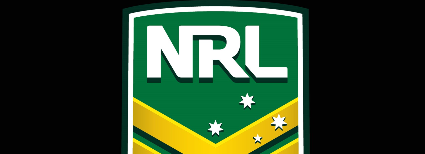 NRL logo on black background.