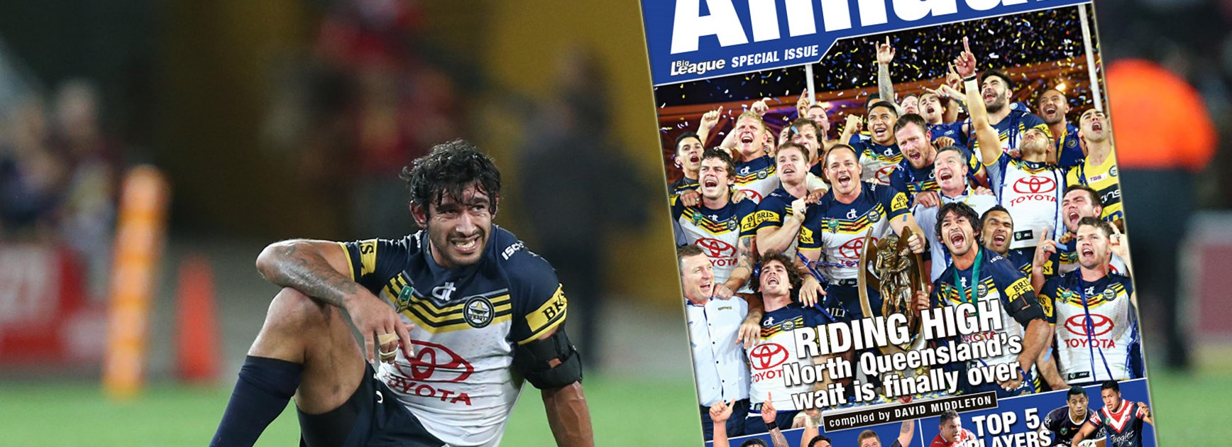 The 2015 Official Rugby League Annual is on sale from Thursday, December 10.