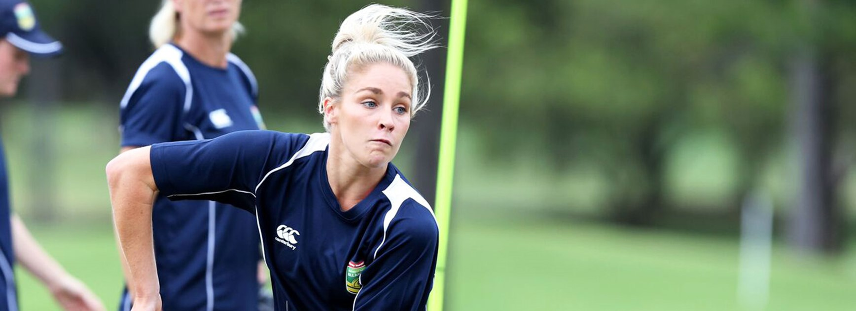 Allana Ferguson is one of three debutants in the Jillaroos side to face the Kiwi Ferns in the 2016 Auckland Nines.