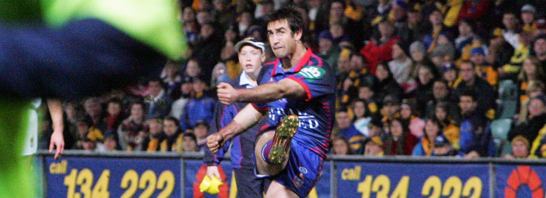 Andrew Johns will be back kicking goals - for charity - during the 2016 Downer NRL Auckland Nines weekend.