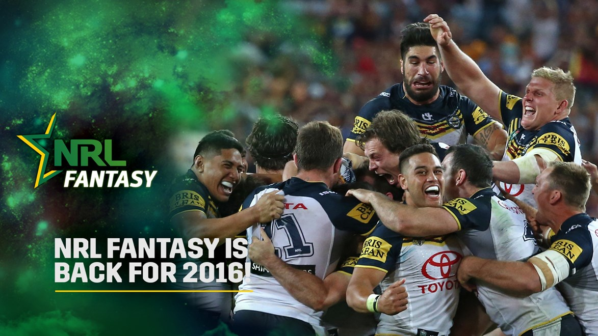 NRL Fantasy for 2016 is now open!