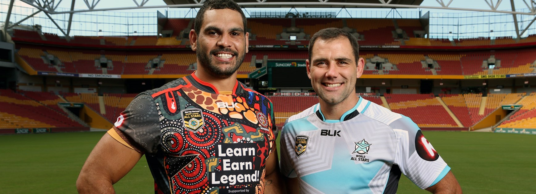 Greg Inglis and Cameron Smith will lead their respective sides in the 2016 Harvey Norman All Stars match.
